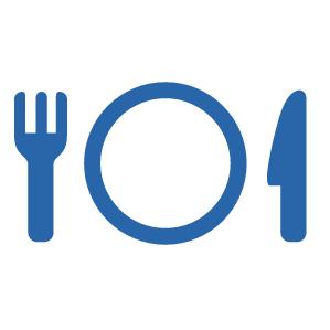 本校の学食が提供する軽食を利用可能